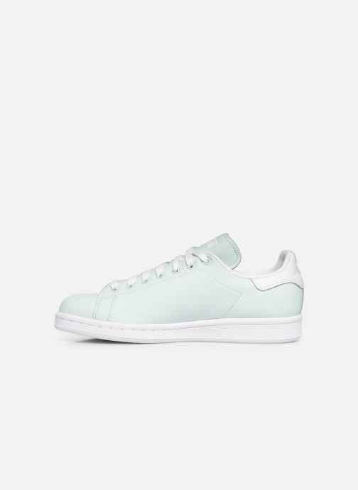 Trainers adidas originals Stan Smith W Blue front view
