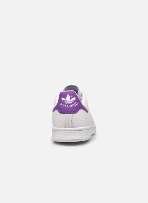 Deportivas adidas originals Stan Smith W Blanco vista lateral derecha