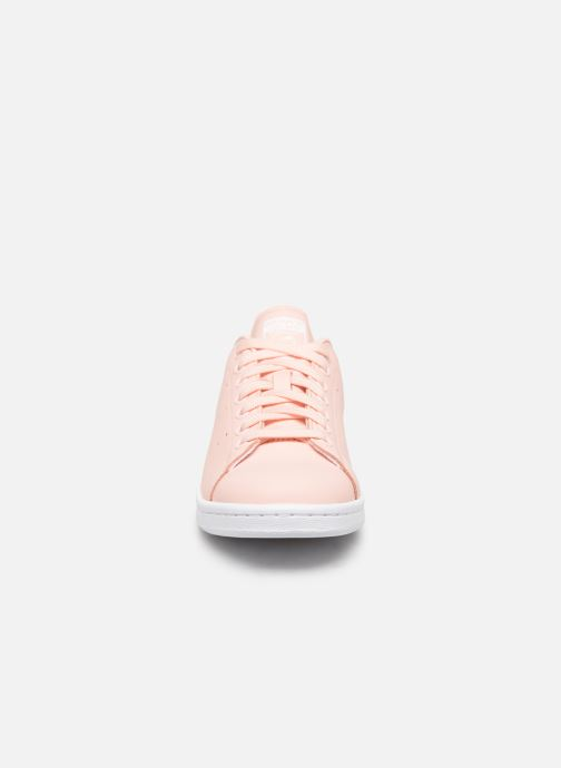 Baskets adidas originals Stan Smith W Rose vue portées chaussures
