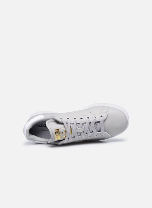 Baskets adidas originals Stan Smith W Gris vue gauche