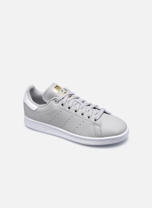 Baskets adidas originals Stan Smith W Gris vue détail/paire