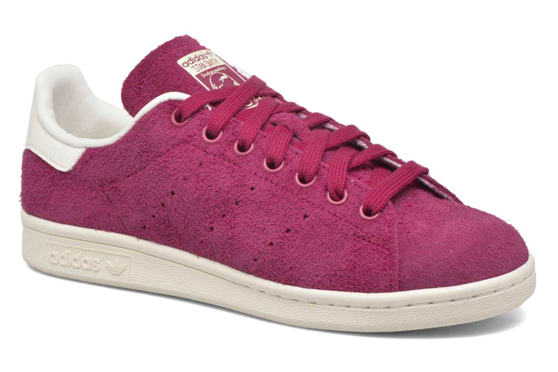 Baskets Adidas Originals Stan Smith W Rouge vue détail/paire
