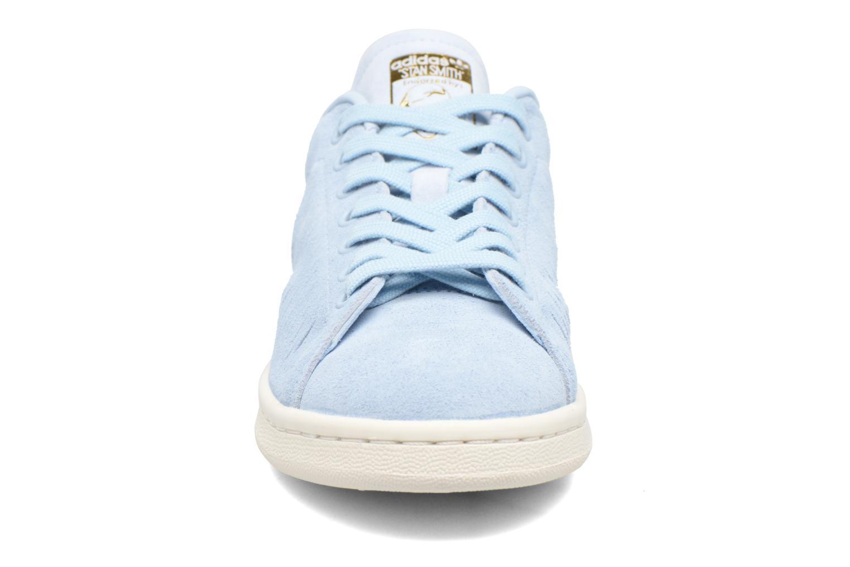 Baskets Adidas Originals Stan Smith W Bleu vue portées chaussures