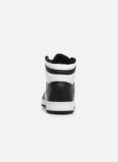 Sneakers adidas originals Top Ten Hi Zwart rechts