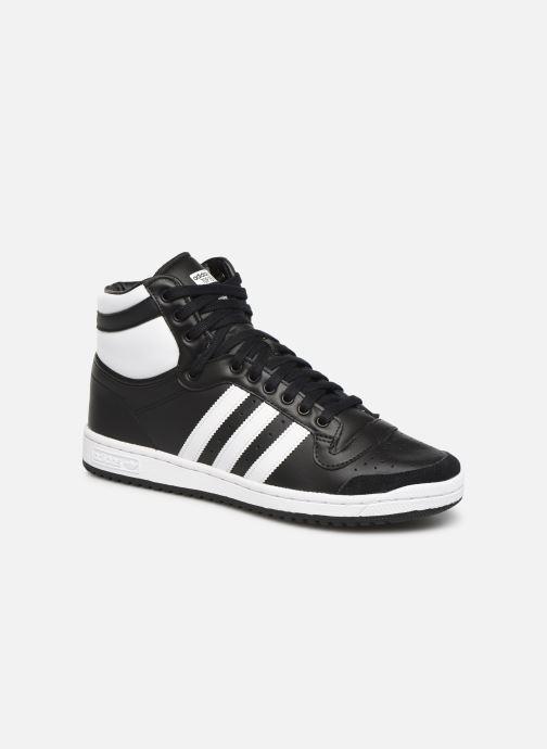 Sneakers adidas originals Top Ten Hi Sort detaljeret billede af skoene