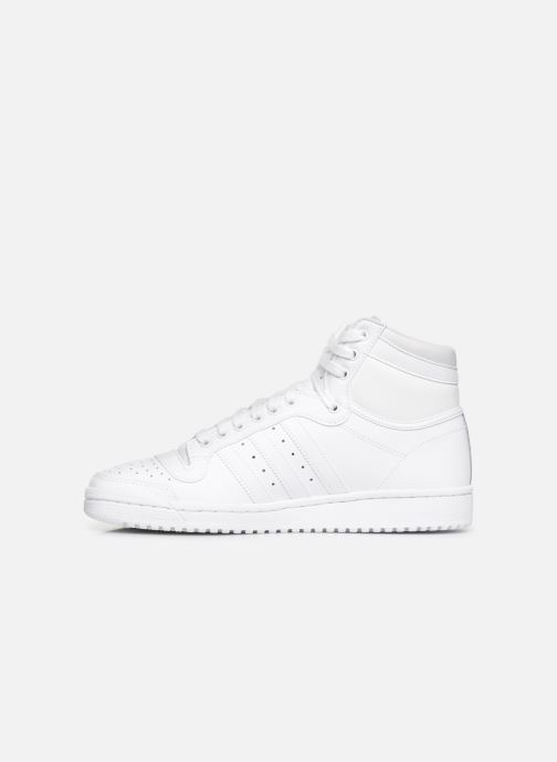 Baskets adidas originals Top Ten Hi Blanc vue face