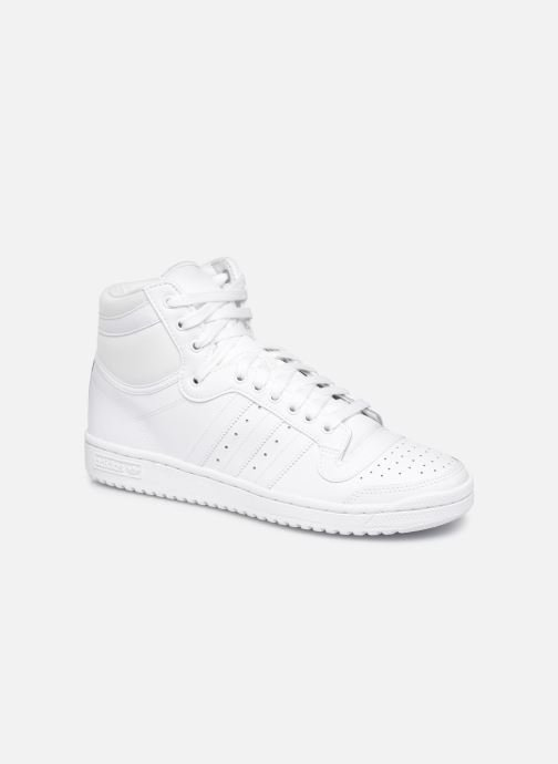 Baskets adidas originals Top Ten Hi Blanc vue détail/paire