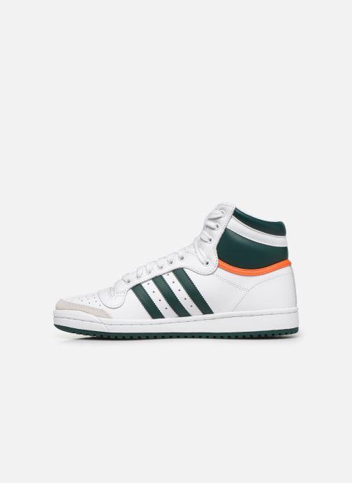 Sneaker adidas originals Top Ten Hi weiß ansicht von vorne