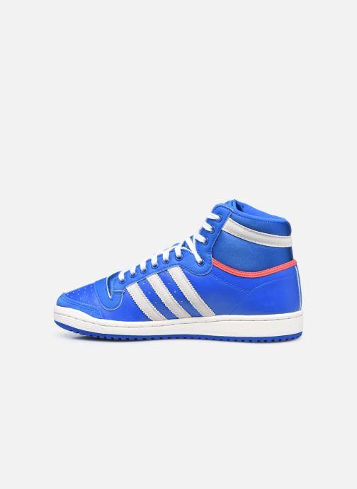 Baskets adidas originals Top Ten Hi Bleu vue face