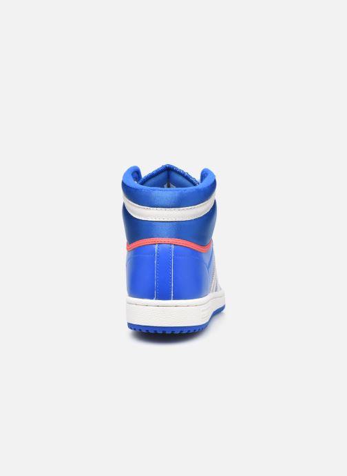 Baskets adidas originals Top Ten Hi Bleu vue droite