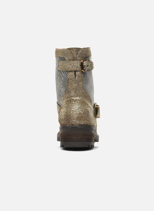 Bottines et boots Les Tropéziennes par M Belarbi Lolita Or et bronze vue droite