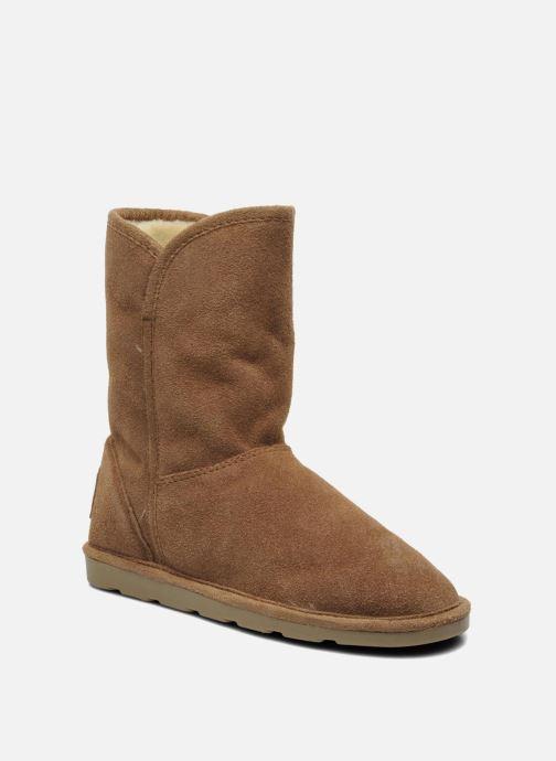 Ankle boots Les Tropéziennes par M Belarbi Carmen Brown detailed view/ Pair view