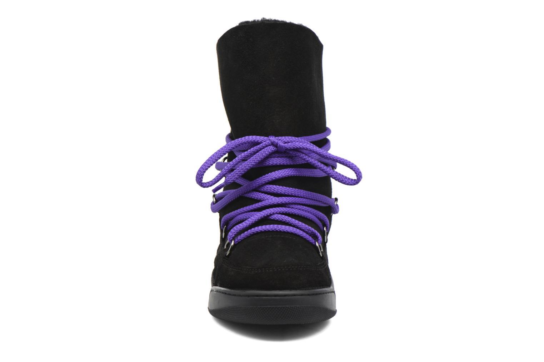Bottines et boots Serafini Moon Noir vue portées chaussures