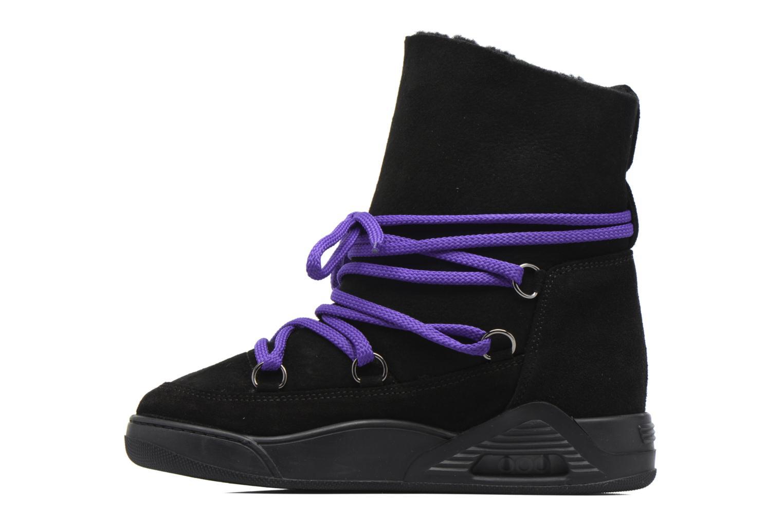 Bottines et boots Serafini Moon Noir vue face