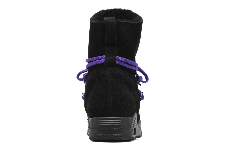 Bottines et boots Serafini Moon Noir vue droite