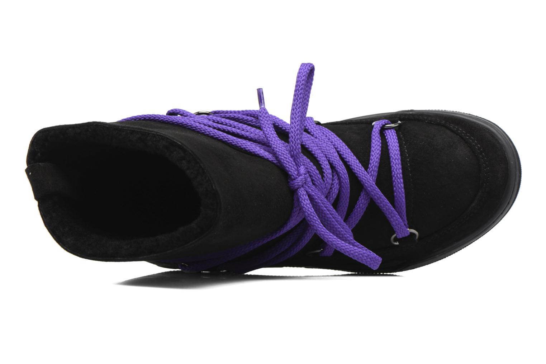 Bottines et boots Serafini Moon Noir vue gauche