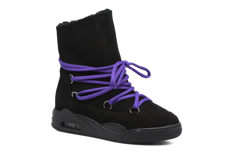 Bottines et boots Serafini Moon Noir vue détail/paire