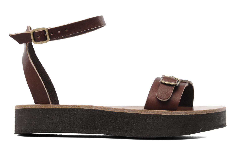 Sandales et nu-pieds Sandales de Thaddée Massada 3 Marron vue derrière
