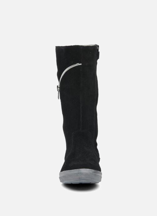 Stiefel Minibel HALEZIP schwarz schuhe getragen