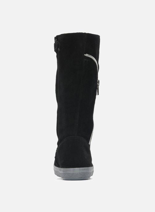 Stiefel Minibel HALEZIP schwarz ansicht von rechts