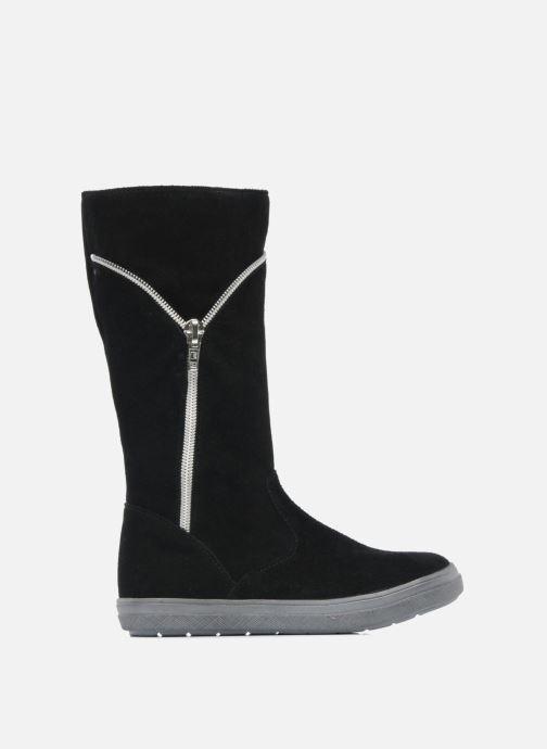 Stiefel Minibel HALEZIP schwarz ansicht von hinten