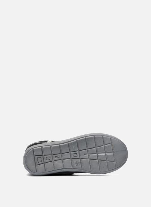 Stiefel Minibel HALEZIP schwarz ansicht von oben