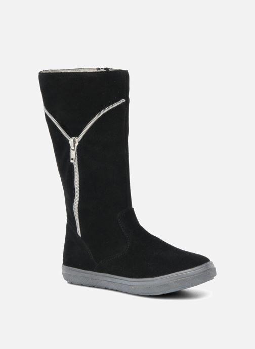 Laarzen Minibel HALEZIP Zwart detail