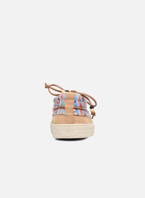 Chaussures à lacets Dolfie Dylan Beige vue droite