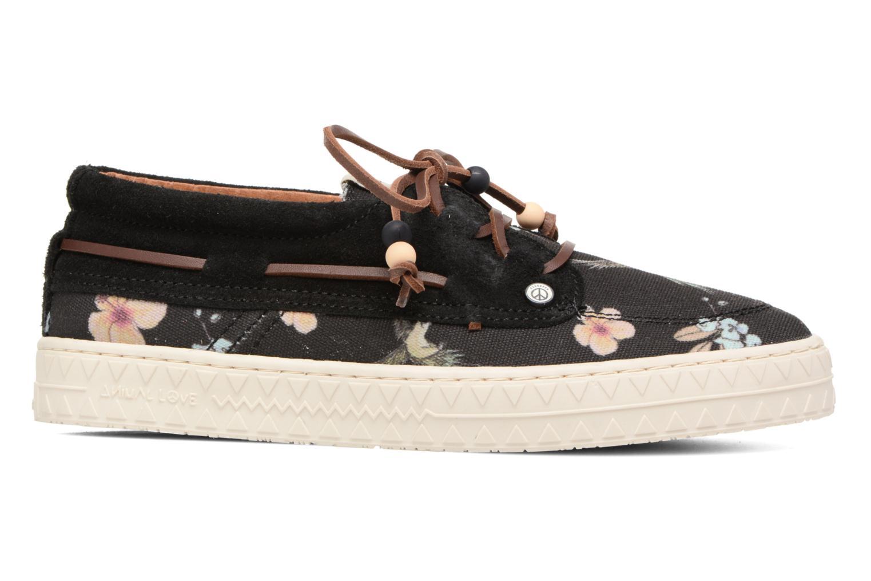 Chaussures à lacets Dolfie Dylan Noir vue derrière