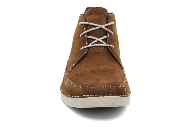 Zapatos con cordones Timberland EK20 BOAT MTC Marrón vista del modelo