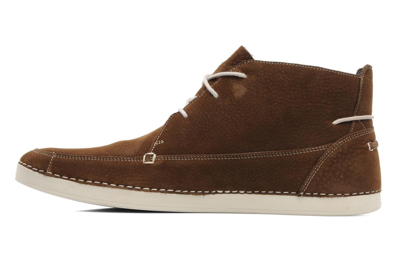 Zapatos con cordones Timberland EK20 BOAT MTC Marrón vista de frente