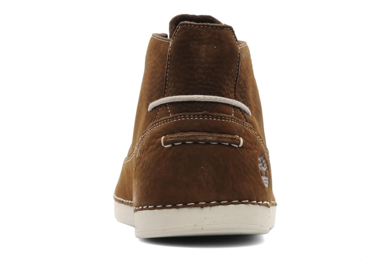Zapatos con cordones Timberland EK20 BOAT MTC Marrón vista lateral derecha