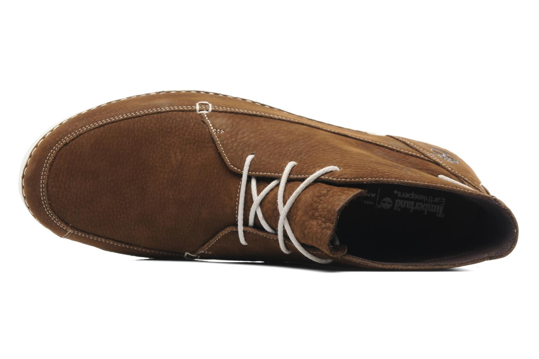 Zapatos con cordones Timberland EK20 BOAT MTC Marrón vista lateral izquierda