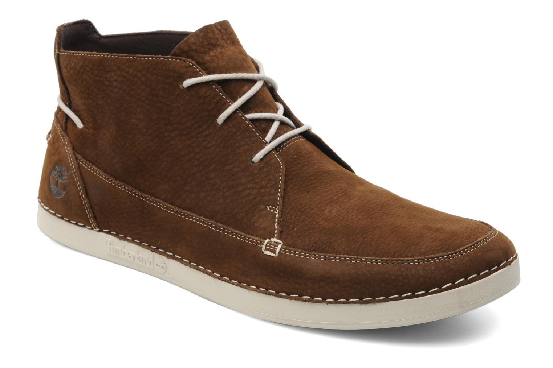 Zapatos con cordones Timberland EK20 BOAT MTC Marrón vista de detalle / par