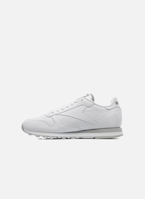 Sneakers Reebok Classic Leather Bianco immagine frontale