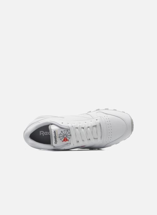 Sneakers Reebok Classic Leather Bianco immagine sinistra