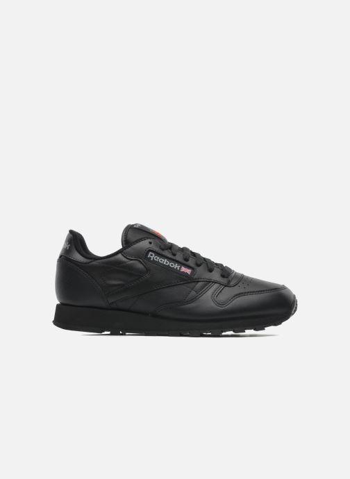 Sneaker Reebok Classic Leather schwarz ansicht von hinten