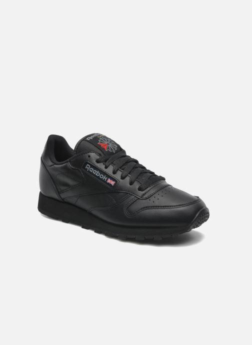 Baskets Reebok Classic Leather Noir vue détail/paire