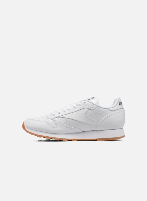 Baskets Reebok Classic Leather Blanc vue face