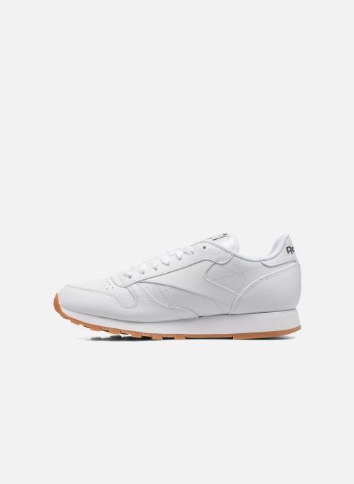 Sneaker Reebok Classic Leather weiß ansicht von vorne