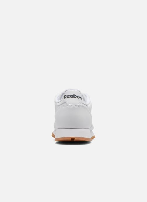 Baskets Reebok Classic Leather Blanc vue droite