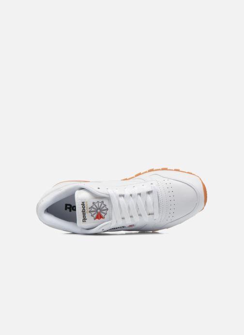 Sneaker Reebok Classic Leather weiß ansicht von links