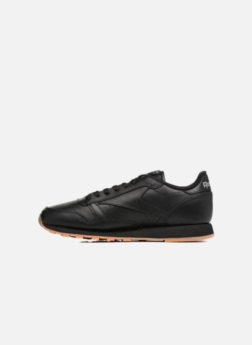 Deportivas Reebok Classic Leather Negro vista de frente