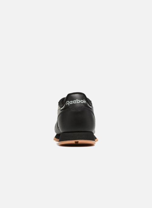 Deportivas Reebok Classic Leather Negro vista lateral derecha