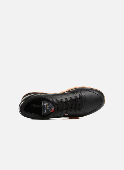 Baskets Reebok Classic Leather Noir vue gauche