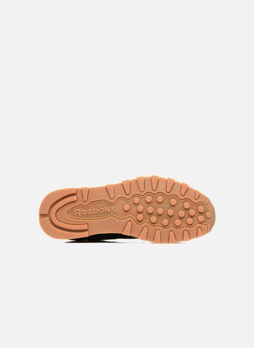 Baskets Reebok Classic Leather Noir vue haut