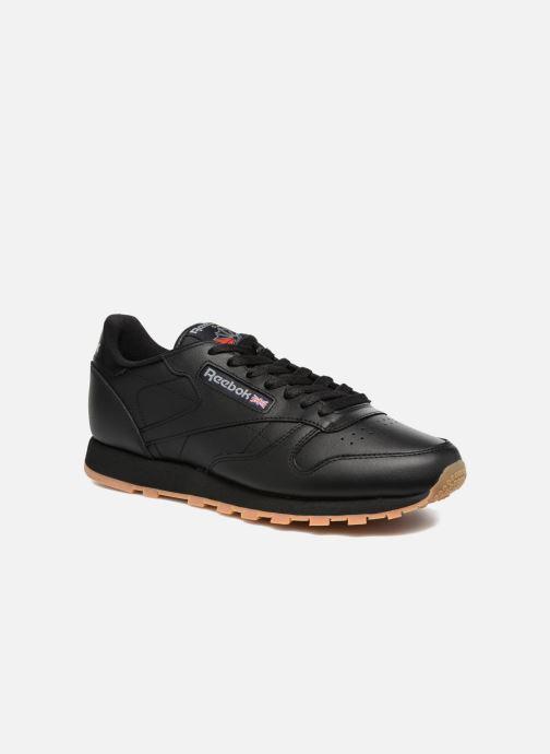 Sneakers Reebok Classic Leather Sort detaljeret billede af skoene