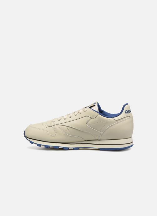 Baskets Reebok Classic Leather Beige vue face