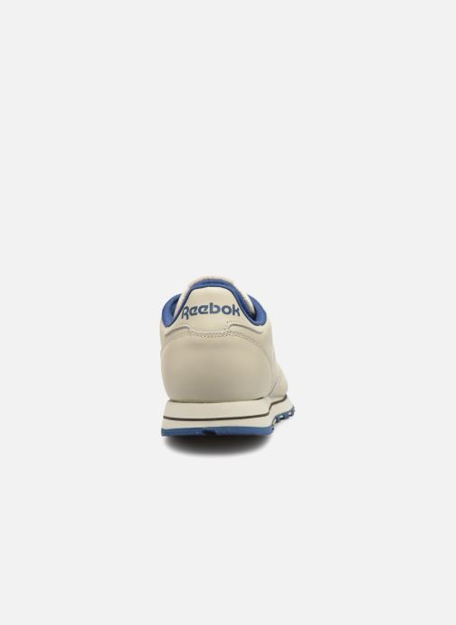 Baskets Reebok Classic Leather Beige vue droite