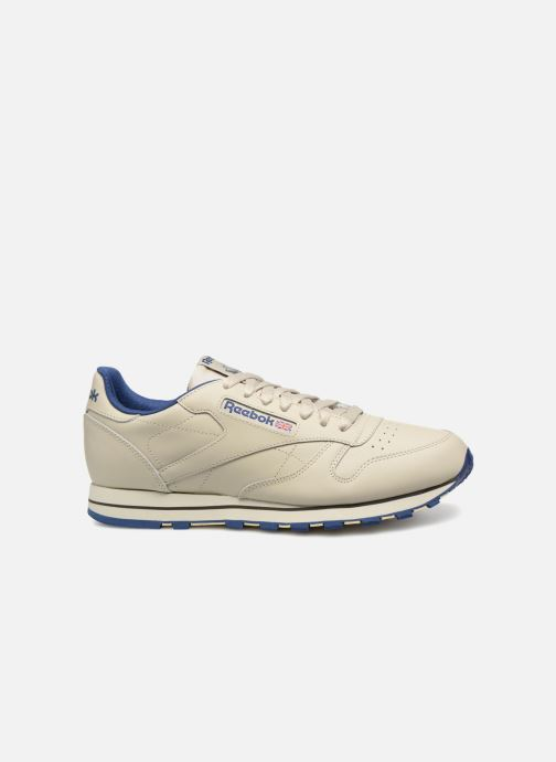 Baskets Reebok Classic Leather Beige vue derrière